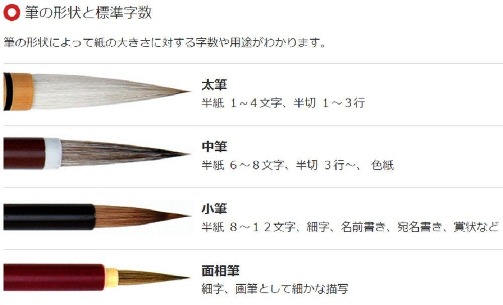 * Gokuhin Chou Hou Ryu Un large brush Futo Fude Japanese Sumi Calligraphy Brush