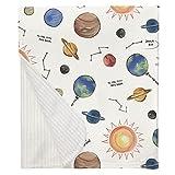 Carousel Designs Solar System Crib Blanket