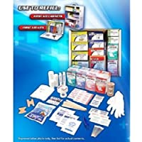 Complete, Affordable First Aid Osha Refill Kit 645 Pieces - Services 35-50 People by OSHA