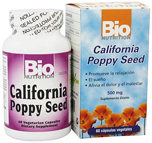 BIO NUTRITION INC, CALIFORNIA POPPY, 60 VCAP -