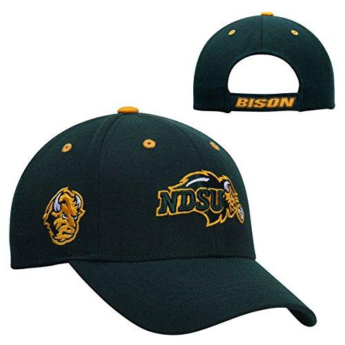 North Dakota State Bison Top of the World Triple Threat Hat - Top Bison