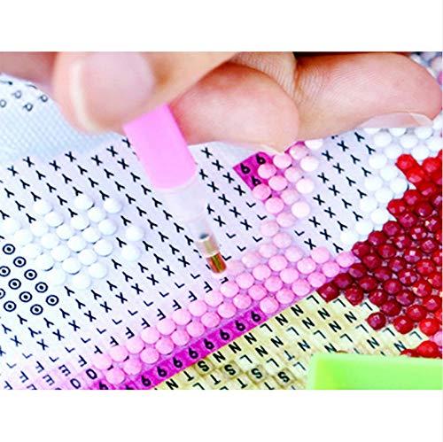 5D Diamante Pintura DIY Diamante redondo MosaicoPareja marina Kit de punto de cruz Manualidades Diamantes de imitaci/ón Decoraci/ón del hogar Regalo