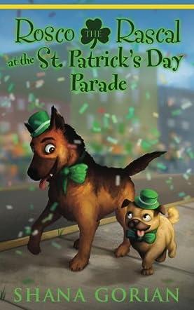Rosco the Rascal at the St. Patrick's Day Parade