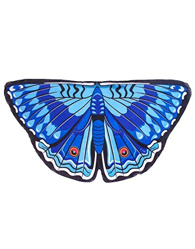 Wings, Butterfly, Royal Blue Pansy (Junonia orithya) by Dreamy Dress-Ups (Blue Dress Ups)