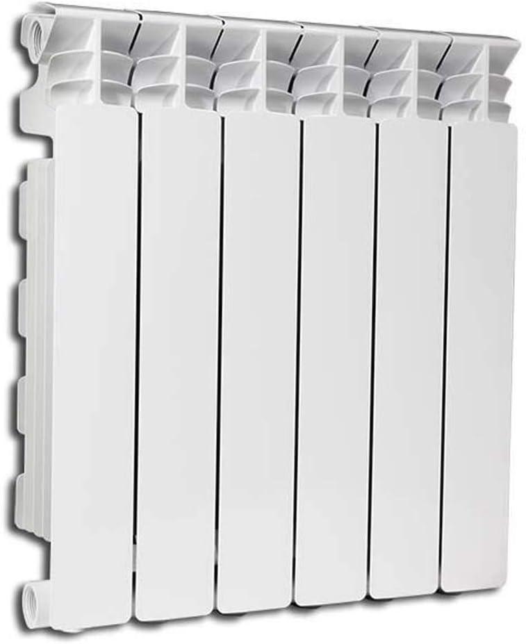 Radiador de Aluminio exclusivo H 700fondital 4Elementos