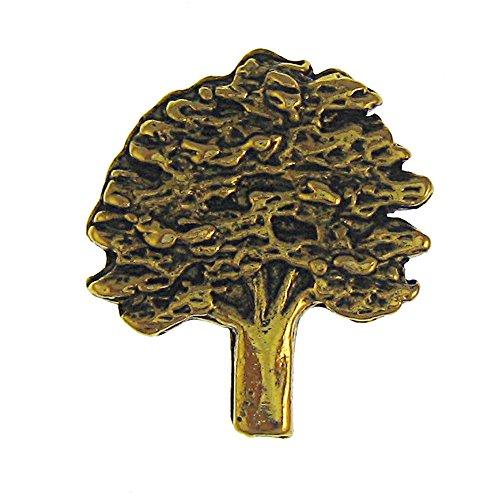 Jim Clift Design Oak Tree Gold Lapel Pin - 1 Count (Oak Leaves Pin)
