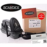 433MHz Barcode Laser Scanner & Cradle KIT. Scandex SX-5132. Manuals & set-up videos available. 12 Month UK Warranty.