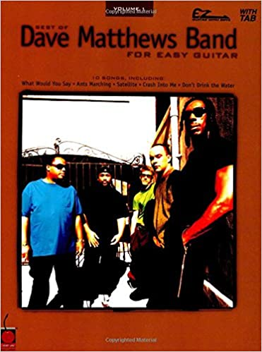Amazon.com: Best of Dave Matthews Band for Easy Guitar, Volume 1 ...
