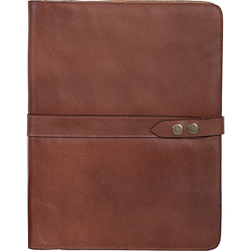 (Scully Tab Closure Unstructured Letter Pad (Mahogany))