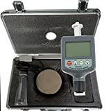 VETUS INSTRUMENTS HM-6561 Integrated Portable Hardness Tester Portable Digital Large LCD Display Leed Hardness Tester 200~900 HLD Durometer With iron plate , Grey