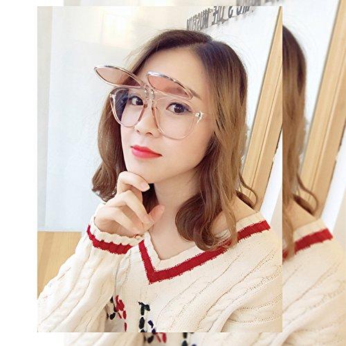 gafas de gafas moda gafafs gafas de gafas gafas calle de de fiesta diseño de de con sol de de moda frame tipo upturning regalo adorno Rojo nuevo Ocean Red Frame de big de novedad Red 2018 cumpleaños 0qa0xz