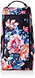 Joules Women's Welland Printed Canvas Welly Bag, Navy Rose, One Size