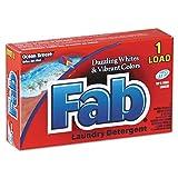 Fab VEN 035690 Dispenser-Design HE Laundry Powder Detergent, Ocean Breeze, 1oz. Box  (Pack of 156)