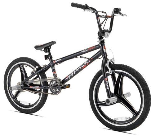 20 Spinning Rims - Razor Agitator BMX/Freestyle Bike, 20-Inch