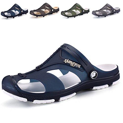 BEFAiR Men's Summer Slip On Mule Sandals Adult's Clogs Beach Sport Slippers