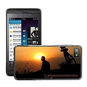 Super Stellar Slim PC Hard Case Cover Skin Armor Shell Protection // M00051866 creative quote aero provide answers // BlackBerry Z10