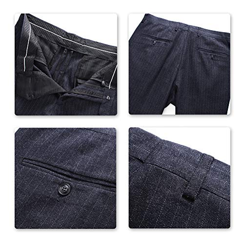 Veste Mariage Costume Blazer Smoking Costard Pantalon Homme Gris Gilet pantalon Party n5q1wXTq