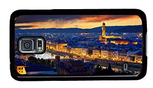 Hipster Samsung Galaxy S5 Case most protective palazzo vecchio florence PC Black for Samsung S5
