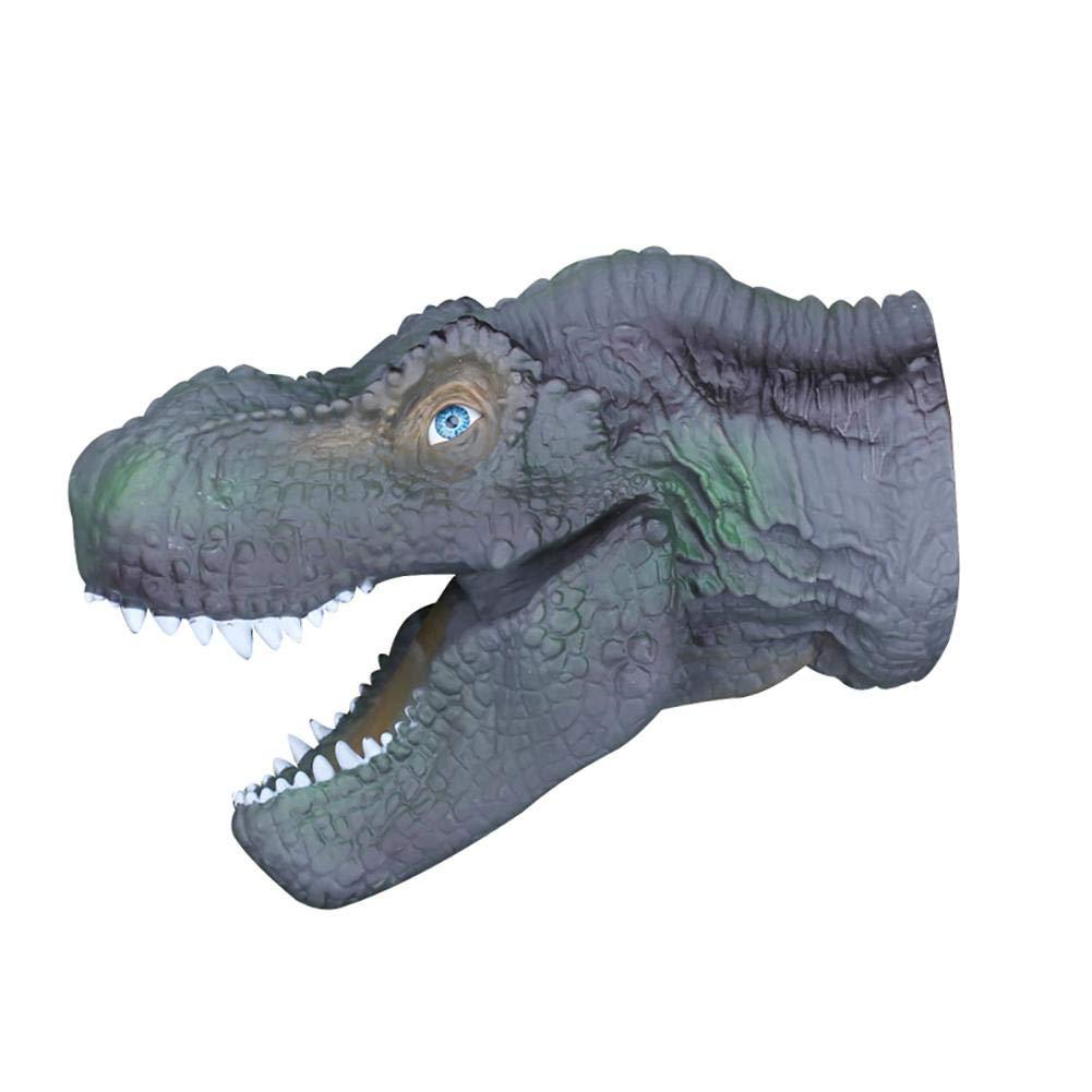 juguete del dinosaurio pl/ástico suave LeKing Marioneta del dinosaurio 2pcs empaquetado neto de la bolsa