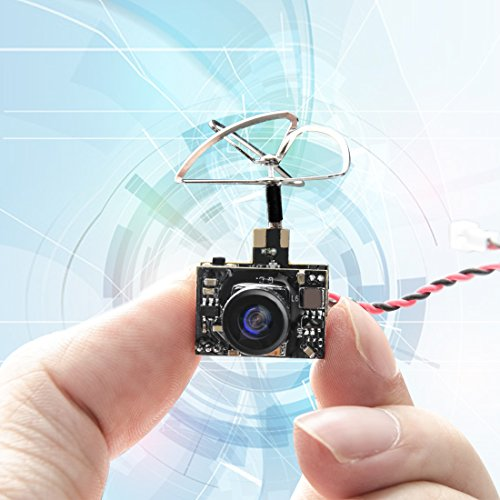GOQOTOMO GT01 600TVL Micro AIO Camera and 5.8GHz 40CH 25mW F