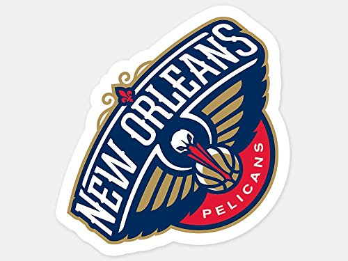 WinCraft NBA New Orleans Pelicans Perfect Cut Color Decal, 4