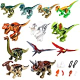 YYKMEI Dinosaurs Set,(12+9) Building Blocks Dinosaur Toys,Great Gift Party