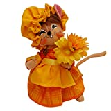 Annalee - 6in Harvest Girl Mouse