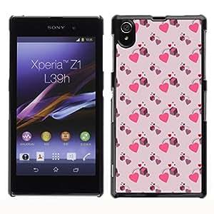 ZECASE Funda Carcasa Tapa Case Cover Para Sony Xperia Z1 L39H No.0000168