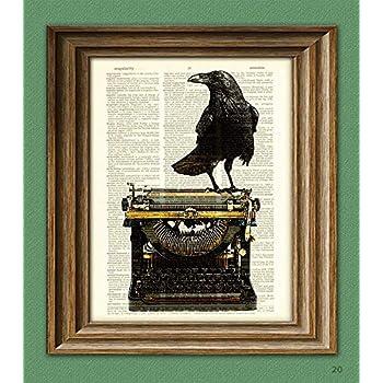 Amazon.com: Edgar Allan Poe The Raven Cool Wall Decor Art ...