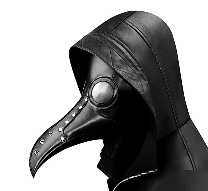 Steampunk Peste Pájaro Máscara De Boca, La Peste Médico Pájaro Máscara Larga Nariz Juego De rol Steampunk Halloween Accesorios De Disfraces: Amazon.es: ...