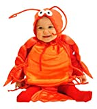Mullins Square Lobster Baby Costume - Red - 6-18 Months