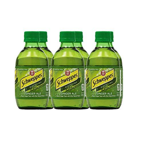 Schweppes Ginger Ale, 6-Pack, 10 oz Bottles - Schweppes Ginger Ale