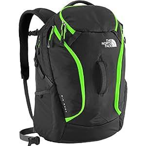 The North Face Big Shot Backpack Asphalt Grey / Krypton Green