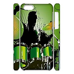 LJF phone case C-Y-F-CASE DIY Design Musical Instruments Pattern Phone Case For ipod touch 4