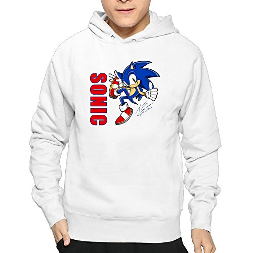 Price comparison product image Lightweight 80's Juniors Man's Sonic XX-Large Hoodies