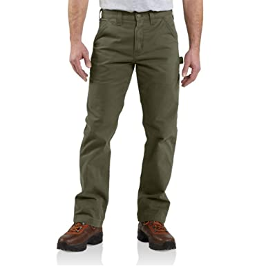 1749d3da4ec Amazon.com  Carhartt Men s Relaxed-fit Washed Twill Dungaree Pant  Clothing