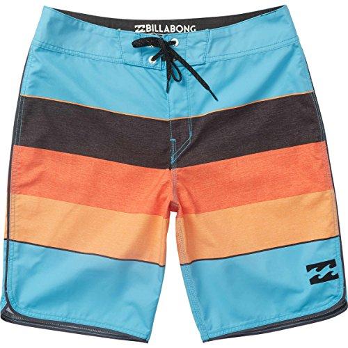 Billabong Men's 73 OG Stripe Boardshort, Coastal, 32 Billabong Flap Pocket Boardshorts