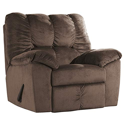 Ashley Furniture Signature Design - Julson Plush Rocker Recliner - Manual Reclining - Café