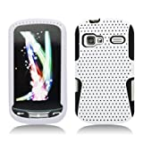 Aimo Wireless LGLM272PCPA008 Hybrid Armor Cheeze Case for LG Rumor Reflex/Freedom/Converse/Expression C395 - Retail Packaging - White