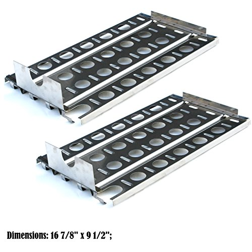 Direct store Parts DP114 (2-pack) Stainless Steel Heat plates Replacement Lynx Gas Grill Models (2)
