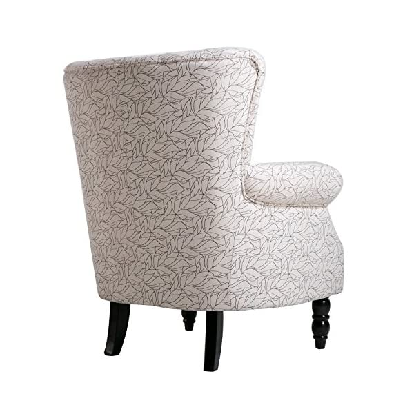 Harper&Bright Designs Upholstered Accent Chair Armless Living Room Chair