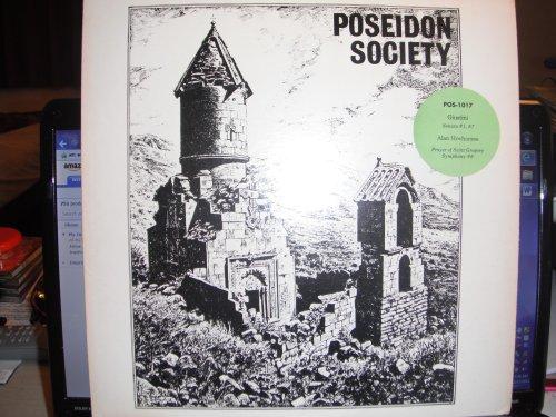 - Poseidon Society 1017 - Lodovico Giustini Di Pistoia, Sonata I & VII, Prayer of Saint Gregory & Symphony No. 6