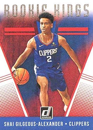 2018-19 Donruss Rookie Kings  21 Shai Gilgeous-Alexander Los Angeles  Clippers Basketball ed324eab4