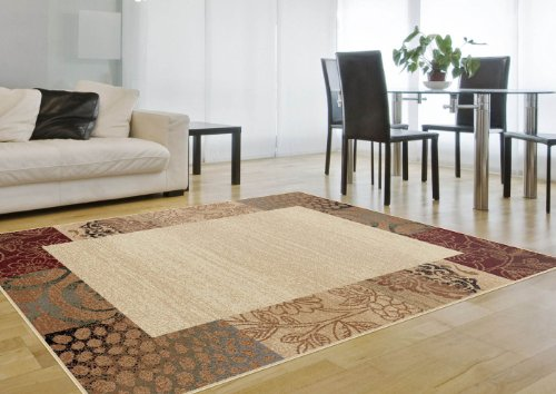 Universal Rugs Transitional Floral Beige product image
