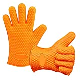 Potholder, Waterproof, Heat Resistant Barbecue Grilling Cooking Gloves Review and Comparison