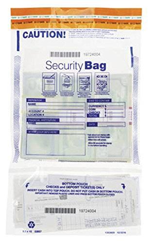 EGP Vertical Twin Deposit Bag 10 x 15