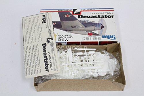 1 Devastator Model (Qiyun Vintage MPC Air Combat Collection Douglas Devastator 1 72 Model Aircraft)