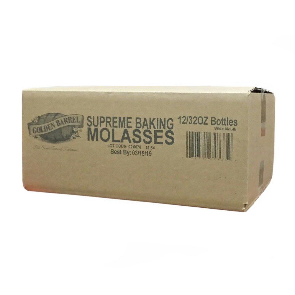 Golden Barrel Supreme Baking Molasses (12/32 fl. oz. Case)