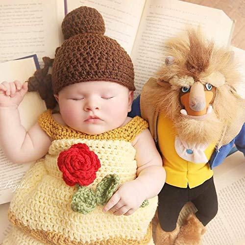 Amazon Com Crochet Baby Belle Beauty And The Beast Infant Newborn