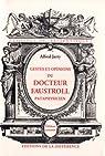 Gestes et opinions du Docteur Faustroll, pataphysicien par Jarry